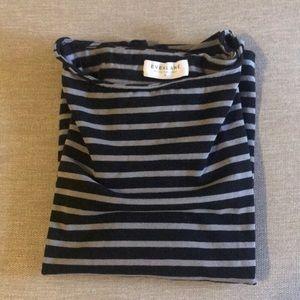 NWOT Everlane Long Sleeve Stripe Shirt